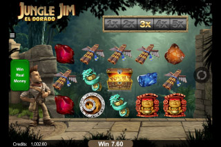 Jungle Jim El Dorado Mobile Slot Reels