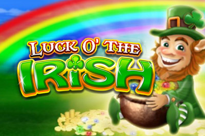 Luck O The Irish Mobile Slot Logo