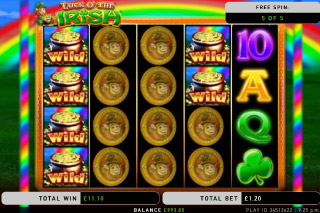 Luck O The Irish Mobile Slot Free Spins