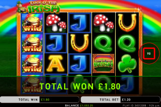 Luck O The Irish Mobile Slot Reels