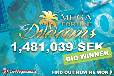 NetEnt Mega Fortune Dreams Casino Jackpot Win