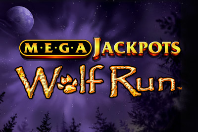 MegaJackpots Wolf Run Mobile Slot Logo