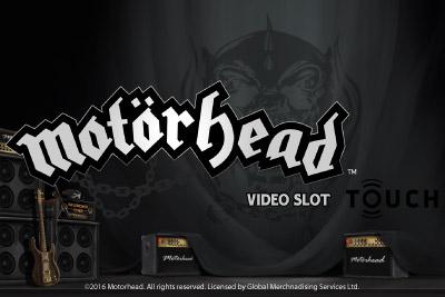 Motorhead Mobile Slot Logo
