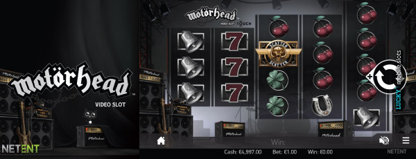 Motorhead Touch Slot Game