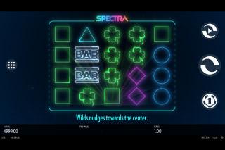 Spectra Mobile Slot Reels