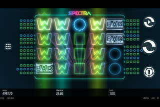 Spectra Mobile Slot Wilds