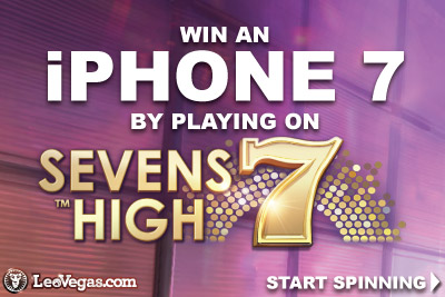 Win An iPhone 7 At Leo Vegas Mobile Casino
