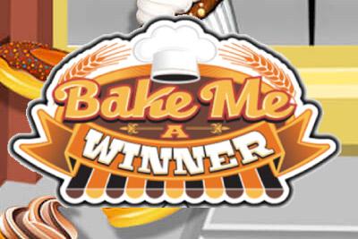 Bake Me A Winner Mobile Slot Logo