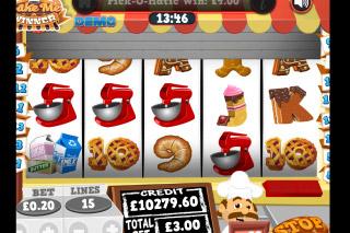 Bake Me A Winner Mobile Slot Reels