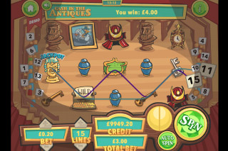 Cash In The Antiques Mobile Slot Free Spins