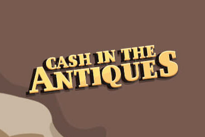 Cash In The Antiques Mobile Slot Logo