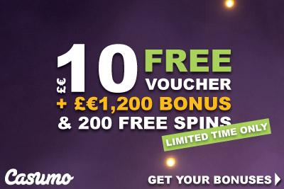 Get Your Free Voucher On Top Of Your Casumo Bonus