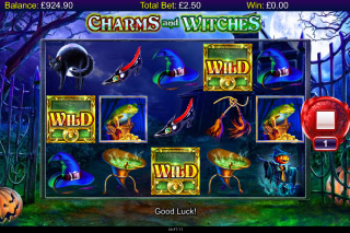 Charms And Witches Mobile Slot Spooky Bats Wilds