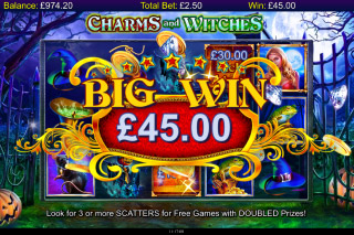 Charms And Witches Mobile Slot Big Win
