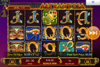 Cleopatra Plus Mobile Slot Bonus Win