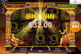 Cleopatra Plus Mobile Slot Big Win