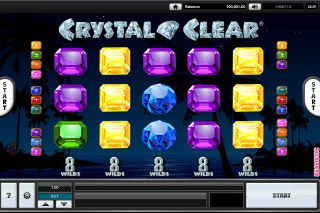 Crystal Clear Mobile Slot Reels