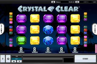 Crystal Clear Mobile Slot Reels