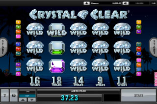 Crystal Clear Mobile Slot Wilds