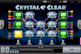 Crystal Clear Mobile Slot Win