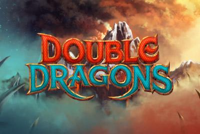 Double Dragons Mobile Slot Logo