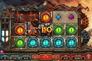 Double Dragons Mobile Slot Reels