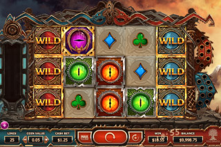 Double Dragons Mobile Slot Stacked Wilds