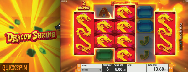 Dragon Shine, a New Slot from Quickspin