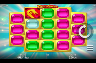 Dragon Shrine Mobile Slot Reels