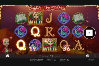 Fairytale Legends Red Riding Hood Mobile Slot Reels