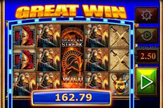 Fortunes Of Sparta Mobile Slot Great Win
