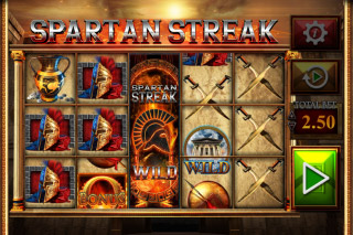 Fortunes Of Sparta Mobile Slot Reels