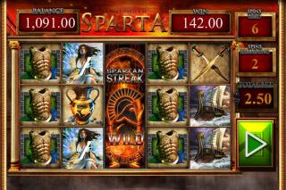 Fortunes Of Sparta Mobile Slot Free Spins