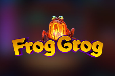 Frog Grog Mobile Slot Logo