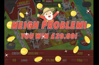 Gold MacDonald Mobile Slot Big Win