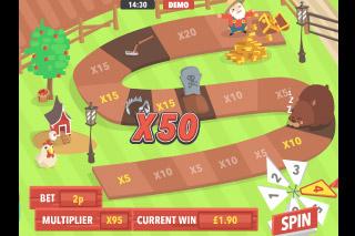 Gold MacDonald Mobile Slot Bonus Trail