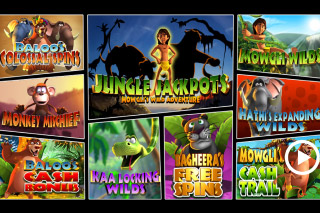 Jungle Jackpots Mobile Slot Bonus Features