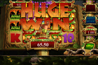 Jungle Jackpots Mobile Slot Locking Wilds Win