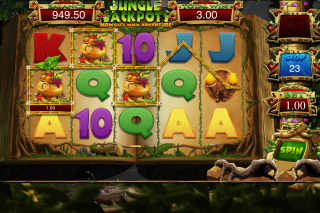 Jungle Jackpots Mobile Slot Reels