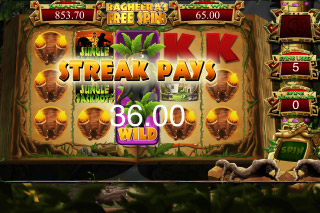 Jungle Jackpots Mobile Slot Bagheera Free Spins