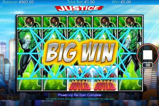 Justice League Mobile Slot Big Win