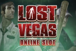 Lost Vegas Mobile Slot Logo