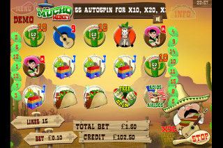 Mucho Money Mobile Slot Reels