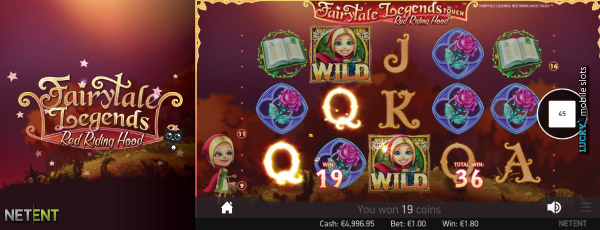 NetEnt Red Riding Hood Slot Wilds