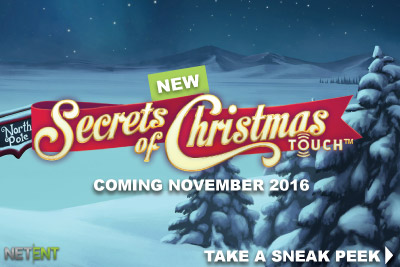 New NetEnt Touch Secrets Of Christmas Slot Coming November