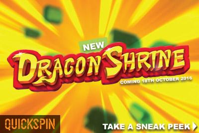 New Quickspin Dragon Shriner Slot Coming Out October 18th