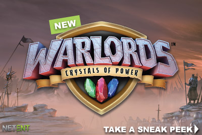 New Warlords Crystals of Power Casino Slot