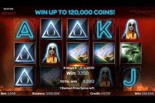 Paranormal Activity Mobile Slot Free Spins