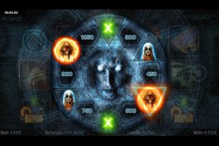 Paranormal Activity Mobile Slot Bonus Wheel