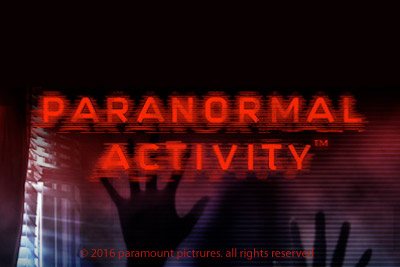 Paranormal Activity Mobile Slot Logo